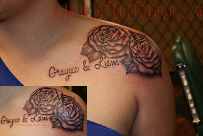 About boy clyde after forever 39 s female artist for Feminine collar bone tattoos